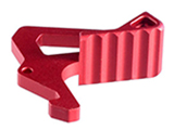Strike Industries Charging Handle Extended Latch (Color: Red)