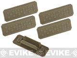 Strike Industries M-LOK Rail Covers V1 (Color: Flat Dark Earth)
