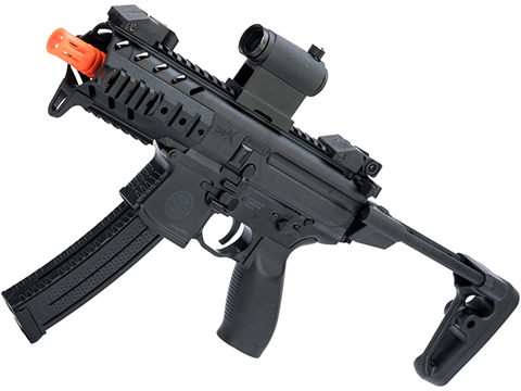 SIG Sauer SIG AIR MPX Airsoft Spring Powered PDW (Color: Black)