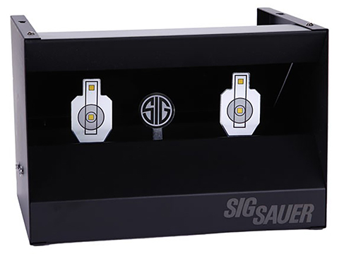 SIG Sauer Elite Performance Dual Resettable Shooting Gallery Target for Air Guns & Airsoft