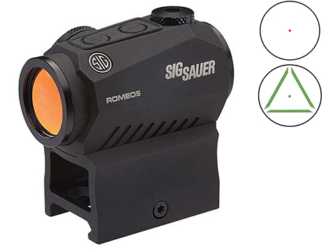SIG Sauer ROMEO5 1x20mm 2 MOA Compact Sight w/ High & Low Mounts