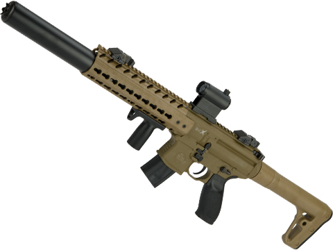 SIG Sauer MCX ASP Co2 Powered .177 cal Semi-Automatic Airgun (Color: Flat Dark Earth)
