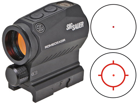 SIG Sauer ROMEO5 XDR 1x20mm Compact Red Dot Sight w/ High & Low Mounts