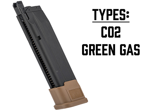 SIG Sauer ProForce Spare Magazine for P320 M17 MHS GBB Pistol (Model: CO2)