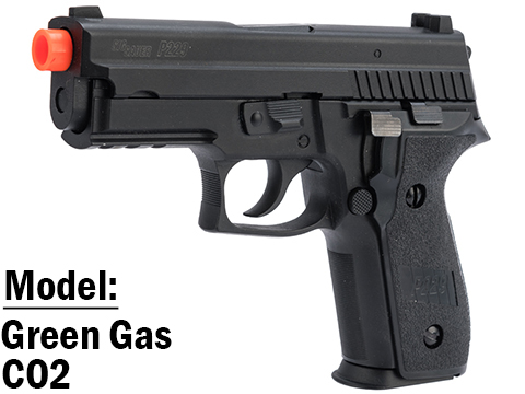SIG Sauer ProForce P229 Airsoft GBB Pistol (Model: Green Gas)