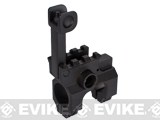 Flip up Front Sight Tower for M4 / M16 Series Airsoft AEG Rifles