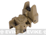 APS Rhino Flip-Up Tactical Back-Up Rifle Sight - Front Sight / Dark Earth
