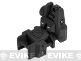 APS Rhino Flip-Up Tactical Back-Up Rifle Sight - Rear Sight / Black