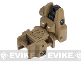 APS Rhino Flip-Up Tactical Back-Up Rifle Sight - Rear Sight / Dark Earth