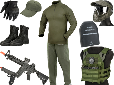 Evike.com Signature Series Green Sportline Loadout