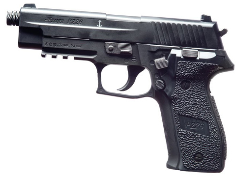 SIG Sauer P226 .177 CO2 Powered Blowback Airgun (.177Cal AIRGUN NOT AIRSOFT) (Color: Black)