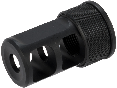 Silverback Airsoft .338 Muzzle Brake for Desert Tech SRS Airsoft Sniper Rifle (14mm Negative)