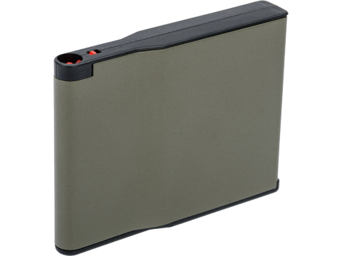 Silverback Airsoft 30 Round Steel Magazine for Desert Tech SRS Series Airsoft Sniper Rifles (Color: OD Green)