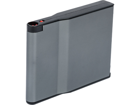 Silverback Airsoft 30 Round Aluminum Magazine for Desert Tech SRS Series Airsoft Sniper Rifles (Color: Grey)