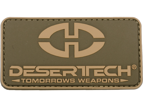 Silverback Airsoft / Desert Tech PVC Logo Patch