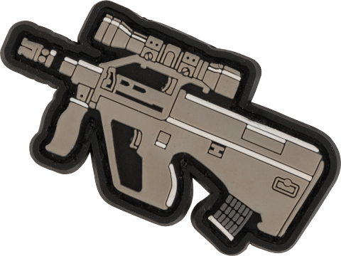 Evike.com PVC Morale Patch Chibi Gun Series (Model: AUG)