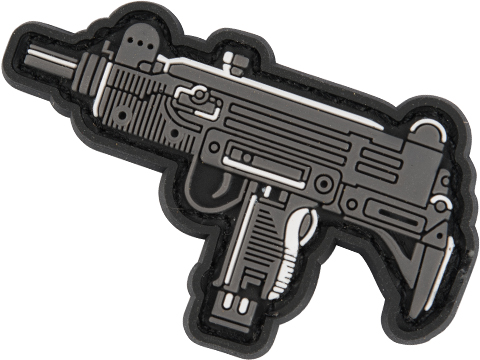 Evike.com PVC Morale Patch Chibi Gun Series (Model: UZI)