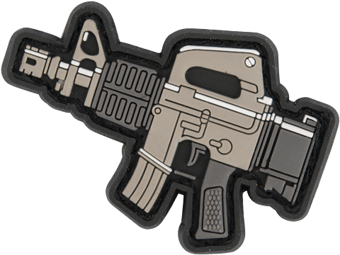 Evike.com PVC Morale Patch Chibi Gun Series (Model: M4A1)
