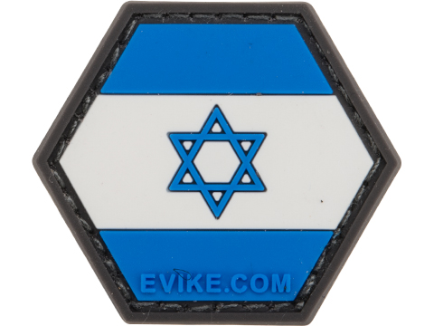 Operator Profile PVC Hex Patch Flag Series (Country: Israel)