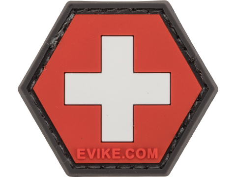 Operator Profile PVC Hex Patch Flag Series (Country: Switzerland)