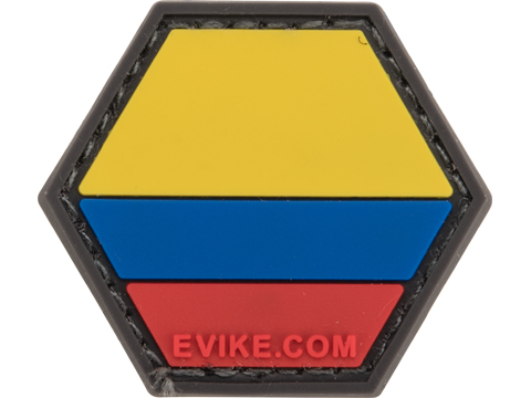 Operator Profile PVC Hex Patch Flag Series (Country: Colombia)