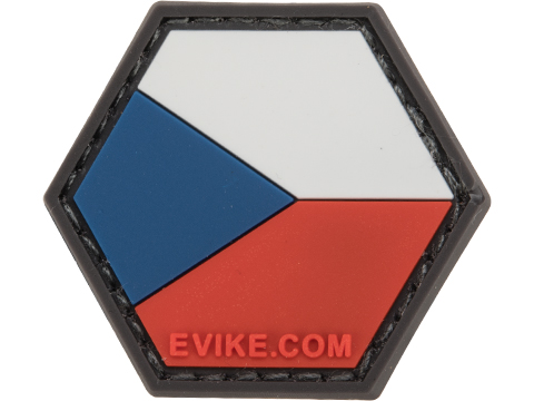 Operator Profile PVC Hex Patch Flag Series (Country: Czech Republic)