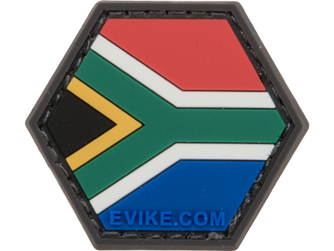 Operator Profile PVC Hex Patch Flag Series (Country: South Africa)