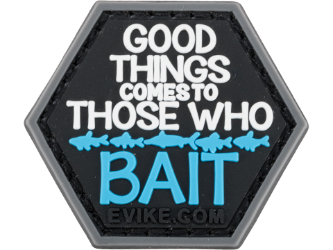 Operator Profile PVC Hex Patch Fishing Series (Style: Good Things Come)
