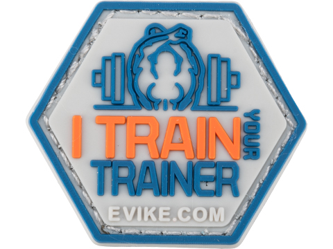 Operator Profile PVC Hex Patch Catchphrase Series 5 (Style: I Train Your Trainer)