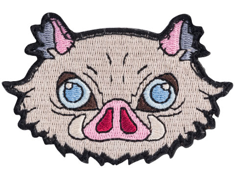 Evike.com DOGE Gear Hook & Loop Morale Patch (Style: Boar Mother Mask)