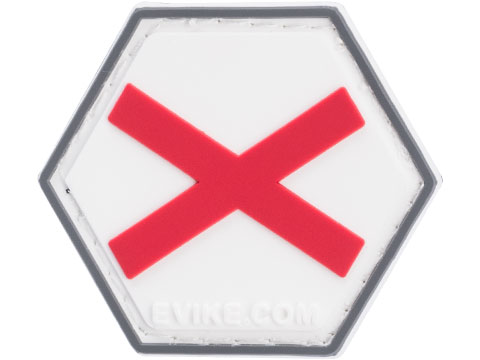 Operator Profile PVC Hex Patch State Flag Series (State: Alabama)