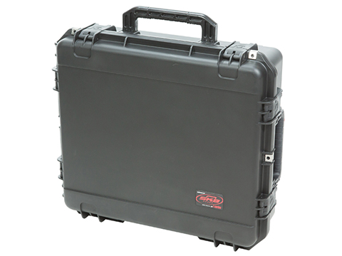 SKB iSeries 2421-7B-C Waterproof Case w/ Customizable Cubed Foam (Color: Black)