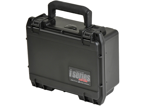 SKB iSeries 3i-0806-3B-C Pistol Case w/ Cubed Foam (Color: Black)