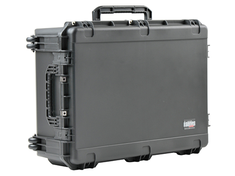 SKB iSeries 3424-12 Wheeled Waterproof Case w/ Cubed Foam