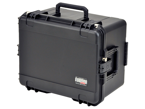 iSeries 2222-12 Wheeled Waterproof Case w/ Cubed Foam