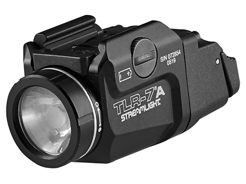 Streamlight TLR-7A Weapon Light w/ Swappable Rear Switch Configurations