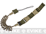 M1 Type Stealth Pistol Retention Lanyard (Color: Coyote Brown)