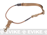 Matrix High Speed Single-Point Bungee Cord Sling with QD Buckle - (Coyote Brown)