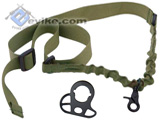 Matrix CQB-R Sling Adapter w/ One Point Bungee Sling (OD Green)