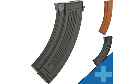 CYMA Hi-Cap Magazine for AK Series Airsoft AEG Rifle (Color: Black / 600rd / AK47-Style)