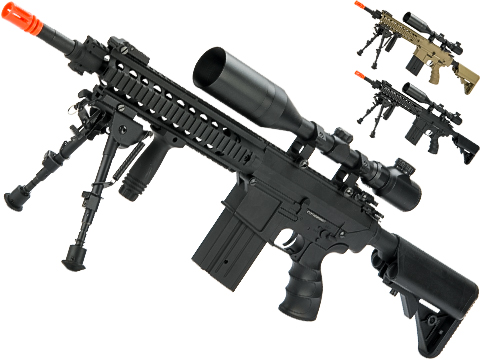 Matrix Full Size SR25-K Precision Rifle Airsoft AEG