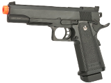 JG Heavyweight Hi-Capa Spec Ops Full Size Airsoft Spring Pistol w/ Metal Slide