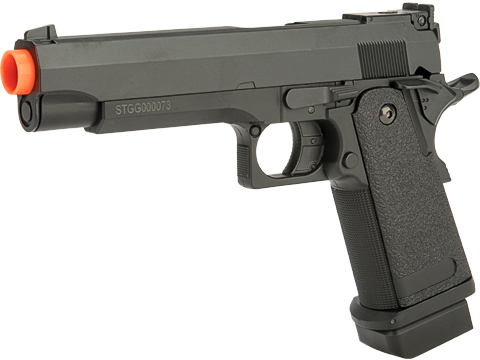 CYMA Advanced Hi-Capa Airsoft AEP Handgun Package (Color: Black)