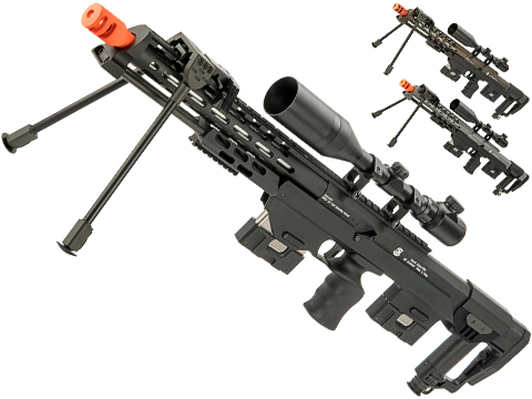 6mmProShop Spring Powered Full Metal DSR-1 Advanced Bullpup Sniper Rifle (Color: Black)