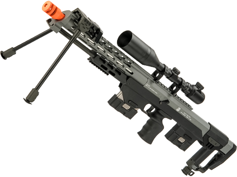 6mmProShop Spring Powered Full Metal DSR-1 Advanced Bullpup Sniper Rifle (Color: Grey)