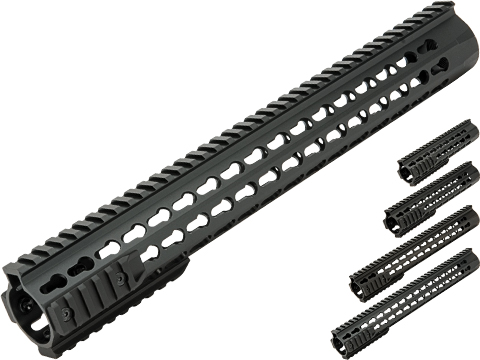 CYMA Aluminum UXR 4 Handguard for Airsoft M4/M16 Rifles (Length: 13)