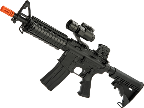 Matrix M4 GBB AR-15 Gas Blowback Airsoft Rifle w/ Reinforced WA System by S&T (Model: M4 CQB-R)