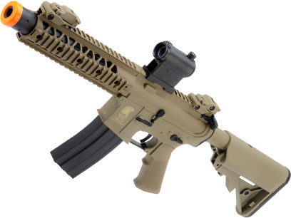 Matrix / S&T Sportsline M4 RIS Airsoft AEG Rifle w/ G3 Micro-Switch Gearbox (Model: Dark Earth M4 RIS 8 Stubby)