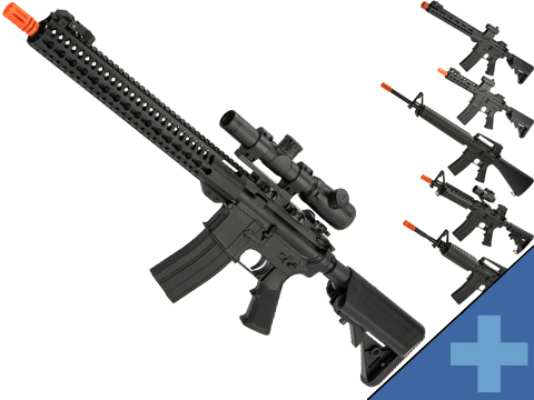 Bone Yard - Matrix M4 GBB AR-15 Gas Blowback Airsoft Rifle w/ Reinforced WA System by S&T (Store Display, Non-Working Or Refurbished Models)