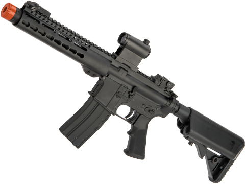 Matrix M4 GBB AR-15 Gas Blowback Airsoft Rifle w/ Reinforced WA System by S&T (Model: Delta Keymod 9)